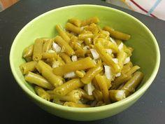 veganer Grüne Bohnen-Salat in 2 Minuten - vegane Rezepte auf Laubfresser