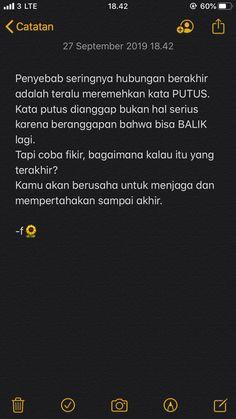 Quotes Rindu, Quotes Lucu, Cinta Quotes, Quotes Galau, Story Quotes, Hurt Quotes, Tumblr Quotes, Film Quotes, Mood Quotes