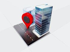 Icon Design - GPS Tracking by Creativedash