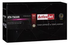 TONER ACTIVEJET ATH-7563AN (DO DRUKARKI HEWLETT PACKARD, ZAMIENNIK HP 314A Q7563A PREMIUM 3500STR. MAGENTA)