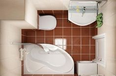 Small bathroom ideas - Home Decor Small Space Bathroom, Bathroom Design Small, Bathroom Interior Design, Bathroom Designs, Bathroom Plans, Bathroom Cleaning, Bathroom Renovations, Bathroom Ideas, Plumbing Fixtures