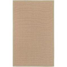 basic beige rug