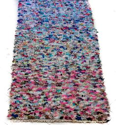 Boucherouite #77,   King of the leftovers rug!! Beautiful.