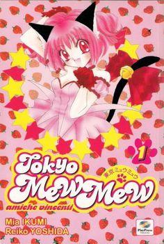 Tokyo Mew Mew - Amiche vincenti (Tokyo Mew Mew) di Mia Ikumi e Reiko Yoshida Tokyo Mew Mew, Aichi, Shoujo, Osaka, Reiki, Sailor Moon, Anime, Fictional Characters, Art