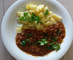 Rezept Hackstippe mit Kartoffeln ~ Haschee von flipper1967 - Rezept der Kategorie Hauptgerichte mit Fleisch