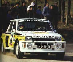 Joaquim Mountinho Renault 5 Turbo