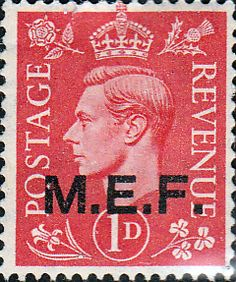 British Post Offices in Africa M E F 1943 SG M11 Mint SG M11 Scott 10 Other British Commonwealth Empire and Colonial stamps Here