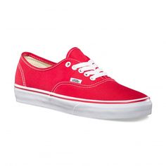 Vans Chaussures Authentic Red