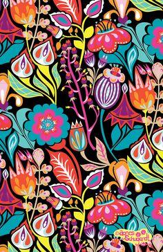 Field Floral by Agnes Schugardt