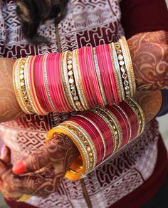 Tahzeeb Bridal Chuda - Bangles - Jewelery