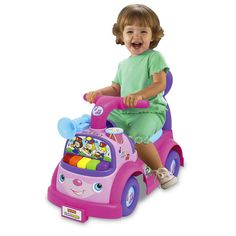 Little People® Music Parade Ride-On (Pink) - Shop Little People Toddler Toys | Fisher-Price