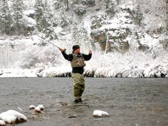 When it is snowing the huge flakes with little to no wind there are few things that you have in your favor as a fly fisherman. Description from flyfishingfrenzy.com. I searched for this on bing.com/images