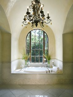 Italian Master Bath Design