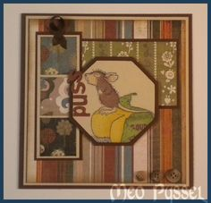 Maskulint House Mouse | Meo's Pysselblogg