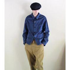 "LA PAZ - Cotton Jacket ""BAPTISTA"" (navy)"