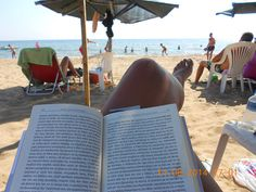 Toes in sand Nose in book Life is Good! Book Of Life, Life Is Good, Life Is Beautiful