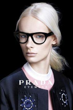 Irene Hiemstra gezicht van Prada.