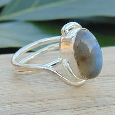 Check out this item in my Etsy shop https://www.etsy.com/listing/488519918/labradorite-ring-handmade-gemstone-ring