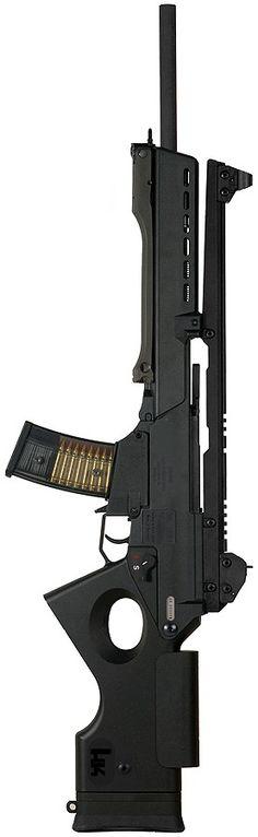 Heckler und Koch SL8-1 Tactical Sniper Rifle - 5.56x45mm NATO