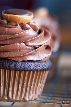 Mimi's Fairy Cakes: Toffifee-Schoko-Cupcakes