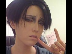 Attack on Titan: Levi Cosplay Makeup Tutorial [Shikarius Cosplays] WOW this is totally amazing!!!