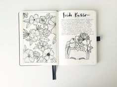 Bullet Journal® Show & Tell with Federica @feebujo. Collection of drawings.
