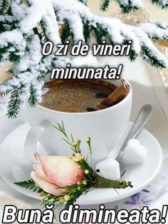 Good Morning, Tea Cups, Tableware, Motivation, Sweet, Bom Dia, Thinking About You, Buen Dia, Dinnerware