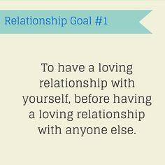 Relationship Goal #1