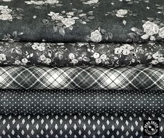 This denim inspired group featuring beautiful florals, great plaids, denim textures and pin dots is a great addition to any home. The Gina collection makes beautiful clothes and accessories too! Beautiful Clothes, Beautiful Outfits, Windham Fabrics, Floral Denim, Florals, Free Pattern, Quilting, Dots, Stockings