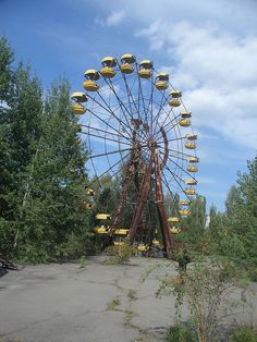 After 24 years, the park's attractions are unmoved. The still-standing, yet sad-looking Ferris wheel has become a symbol of the city and The Zone of Alienation – the exclusion zone surrounding the site of the Chernobyl disaster. Players of the popular video game Call of Duty: Modern Warfare may recognize its structures. The park, including its Ferris wheel, provided source material for the game.