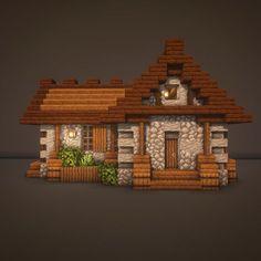 Minecraft Storage, Cute Minecraft Houses, Minecraft Small House, Amazing Minecraft, Minecraft Stuff, Minecraft Projects, Minecraft Designs, Minecraft Ideas, Minecraft Interior Design