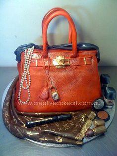creative cake art handbags and shoes by www.creativecakeart.com.au, via Flickr