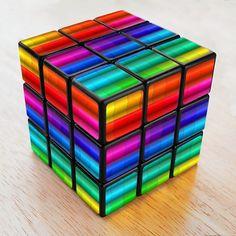 Rainbow cube...