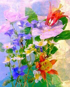 Artist Andrzej Pluta Magic garden 43