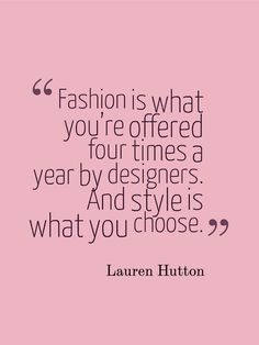 Yes. This is obvious and self-evident. Women of style know this instinctively. Every woman should take heed of this.