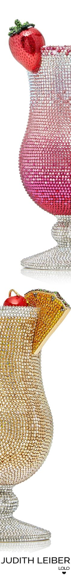 JUDITH LEIBER COUTURE COCKTAIL PINK LADY CLUTCH
