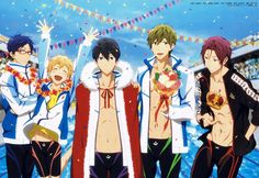 [Official Art] Free!
