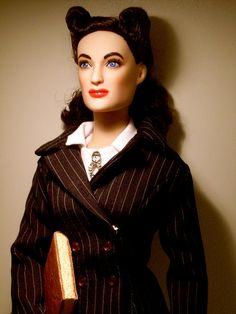 Joan Crawford doll in Mildred Pierce