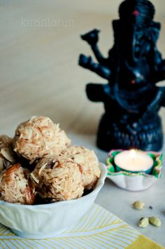 Diwali Coconut & Almond Laddu