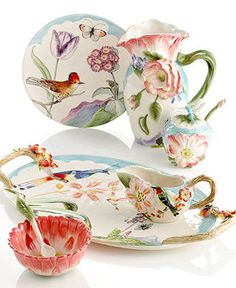 Fitz and Floyd Serveware, Flourish Collection - Casual Dinnerware - Dining & Entertaining - Macy's