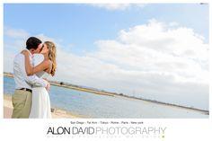 Beach Wedding Photography San Diego  www.alondavidphotography.com  #wedding #alondavidphotography #weddingphotography #beachwedding #sandiego #bride #groom