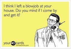 blowjob, e cards, e-cards, funny, lol - inspiring picture on Favim.com