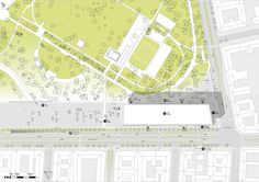 Image 25 of 25 from gallery of BFarchitecture Takes Second Place in Liget Budapest Museum of Ethnography Competition. Courtesy of BFarchitecture Presentation Design, Budapest, Competition, Museum, City, Gallery, Places, Urban Design, Arch