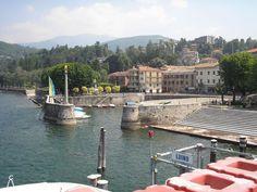 Luino, on Lago Maggiore, Italy