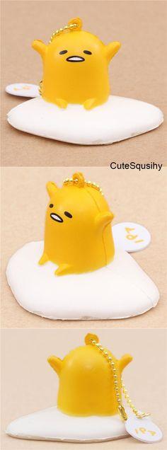 Kawaii Gudetama squishy! Cute Squishies, Kawaii Plush, Shops, Rilakkuma, Cute Characters, Sanrio, Cute Pictures, Pikachu, Cool Stuff