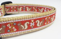 Cute...but Nuts - Dog Collar / Adustable / Pet Accessories / Handmade. $16.00, via Etsy.