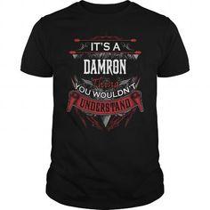 I Love  DAMRON, DAMRON T Shirt, DAMRON Tee T-Shirts