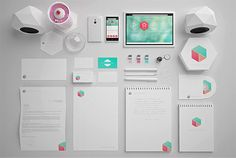 Marmal -  Brand itdentity -10 Beautiful Branding & Corporate Identity Design Projects For Inspiration
