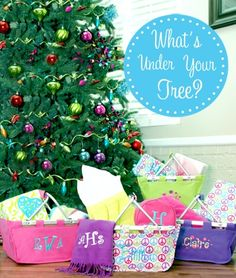 Will there be monogrammed gifts under your tree this year?