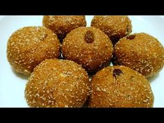 ગોળ નાં ચુરમાંના લાડવા | Gujarati Churma na Ladoo recipe - YouTube Hindi Video, Gujarati Recipes, Hand Blender, Food Website, Oven, Sweets, Make It Yourself, Breakfast, Simple
